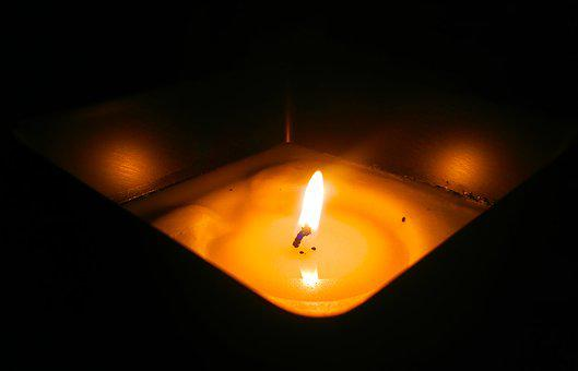 Candle, Flame, Candlelight, Burning, Fire, Light, Glow