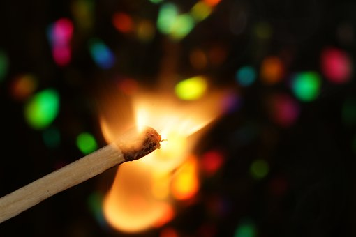 Match, Sticks, Lighter, Sulfur, Fire, Flame, Burn