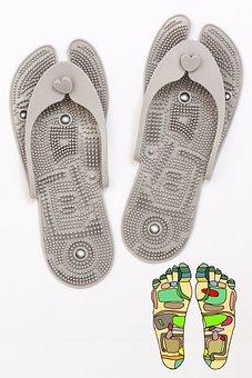 Flip Flops, Shoes, Reflex Zone Massage