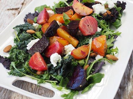 Food, Salad, Beet, Healthy, Diet, Green, Healthy Foods