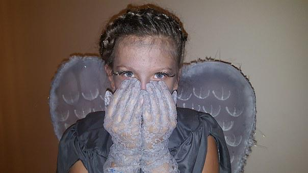 Heluvin, Costume, Crying Angel, Doctor Who, Grey