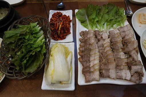 Korean Food, Bossam, Food, Meokbang, Traditional Food