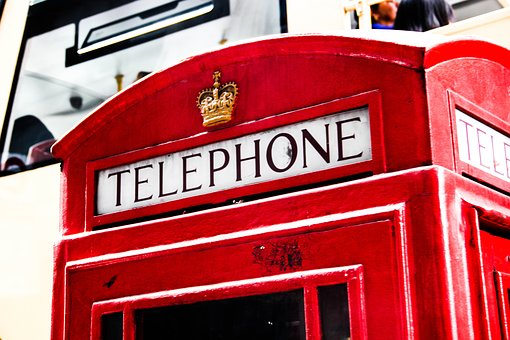 Phone Booth, England, London, Phone, United Kingdom