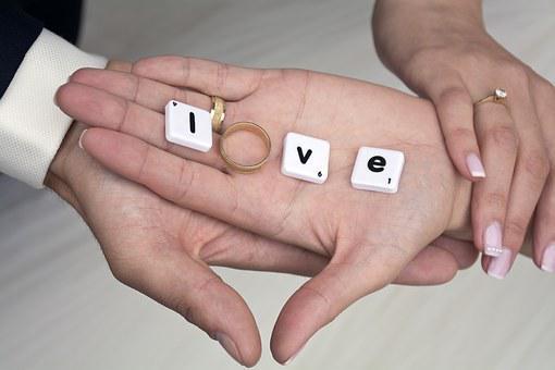 Hands, Love, Marriage, Hand In Hand, In Love, People