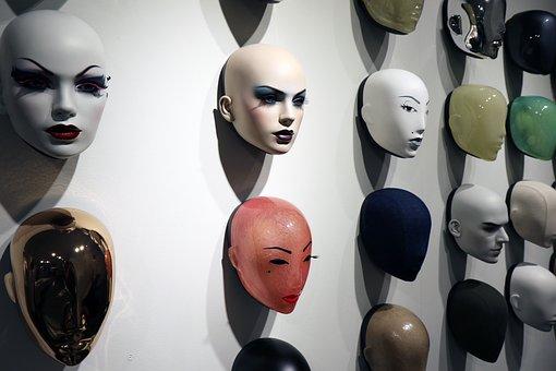 Hans Boodt, Mannequin, Faces, Mask, Dummy, Head, Female