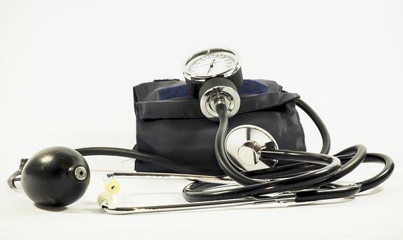 Blood Pressure, Pressure Gauge, Medical, The Test