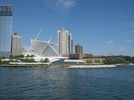 Milwaukee, Museum, Wisconsin, City, Architecture