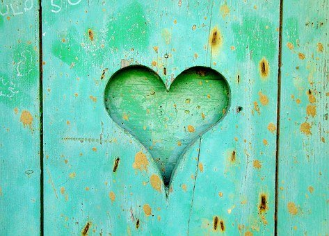 Heart, Wood, Love, Wooden, Old, Heart Background