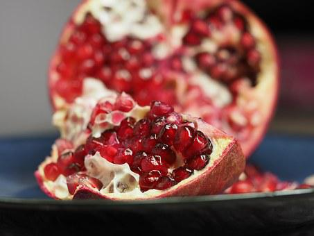Pomegranate, Fruit, Seed, Food, Healthy, Red, Organic