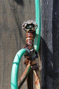 Hose, Faucet, Plumbing, Plumber, Spigot, Leak, Pipe