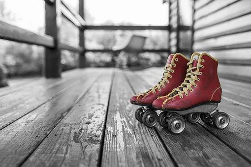 Roller Skates, Rollerblades, Roll Skates, Roller-skates