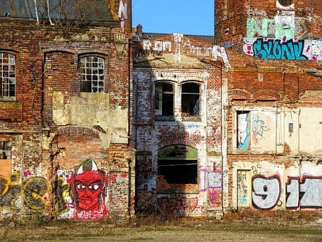 Factory, Building, Old, Lapsed, Ruin, Abandoned
