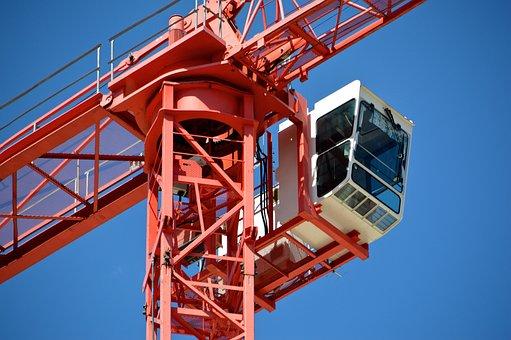 Site, Building Construction, Crane, Kranhaus