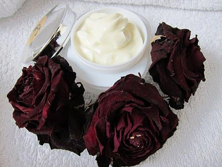 Skin Care, Natural Cream, Rose, Skin Care Beauty, Spa