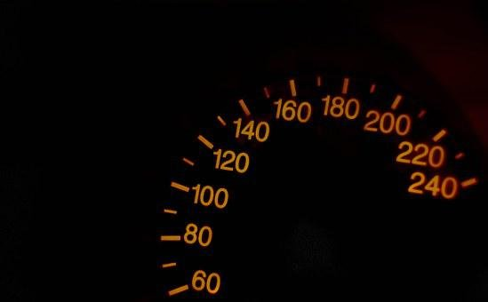Speedometer, The Figures On The Speedometer, Speed