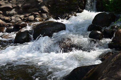 Waterfall, Rocks, Water, Nature, Rock, Natural, Stream