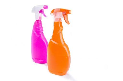 Spray, Household, Surface, Shine, Polish, Isolated, Wet