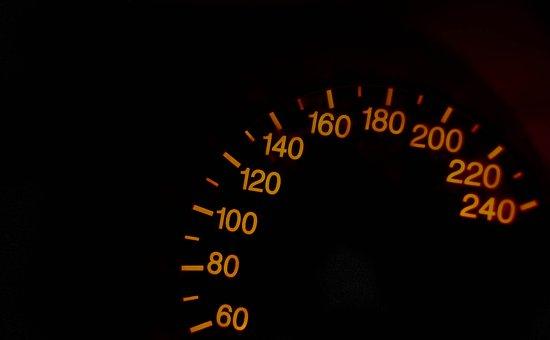 Speedometer, The Figures On The Speedometer, Speed