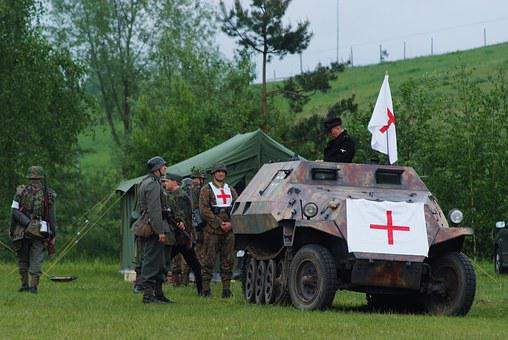 The Military, The Vehicle, Armament, Camping, First Aid
