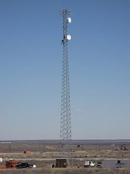 Radio, Tower, Communication