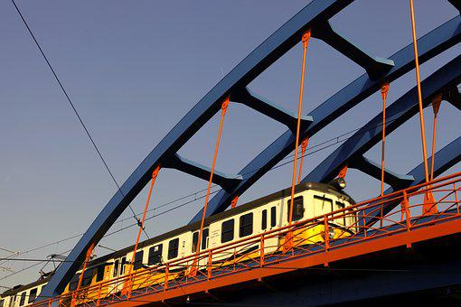 Railway, The Viaduct, Train, The Design Of The, Bridge