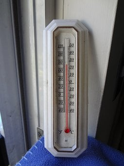 Thermometer, Heat, Temperature, Hot, Warm, Summer