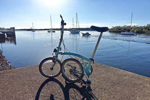 Bicycle, Brompton, Leisure, Lifestyle, Adventure