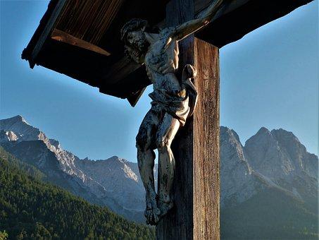 Jesus, Cross, Wayside Cross, Faith, Christ, Figure