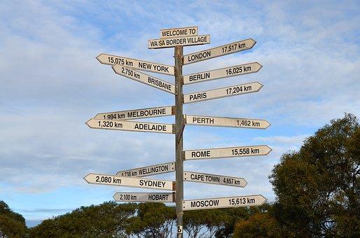 Sign, Signpost, Direction, Arrow, Way