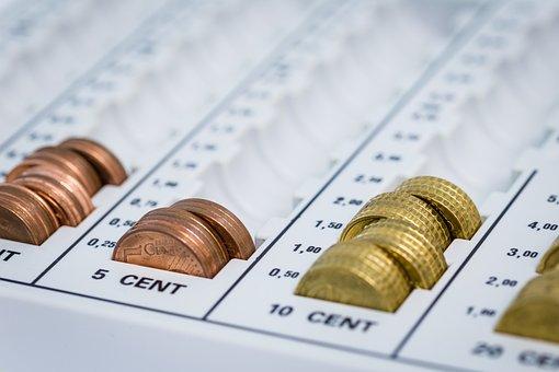 Money, Zählbrett, Finance, Cash, Loose Change, Coins