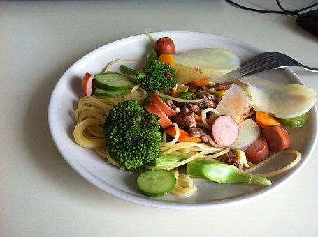 Food, Cauliflower, Fork
