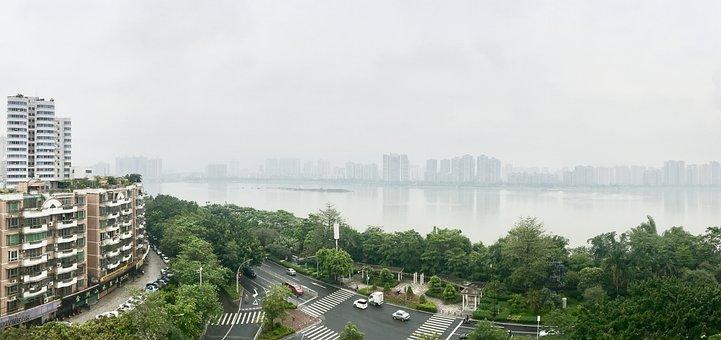 Guangzhou, China, Lake
