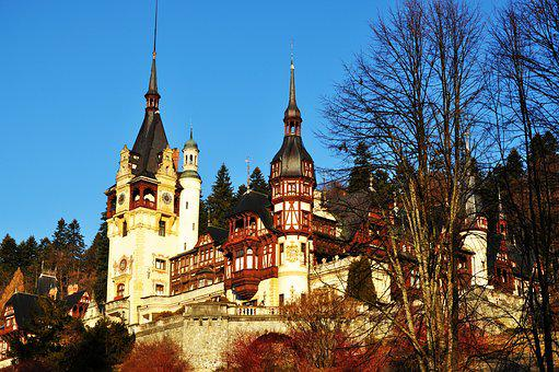 Nature, Palace, Fortress, Palace In Romania