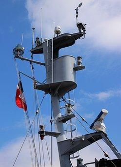 Crow's Nest, Mast, Ship, Rigging, Boat, Nautical, Navy