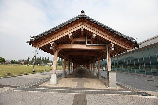 Republic Of Korea, Roof, Korean, Hanok, Roof Tile