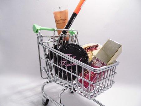 Shopping, Online Shopping, Eat, Marketing, Trolley