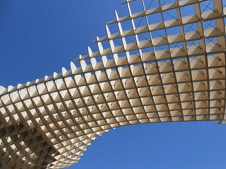 Seville, Spain, Architecture, Landmark, City, Lattice