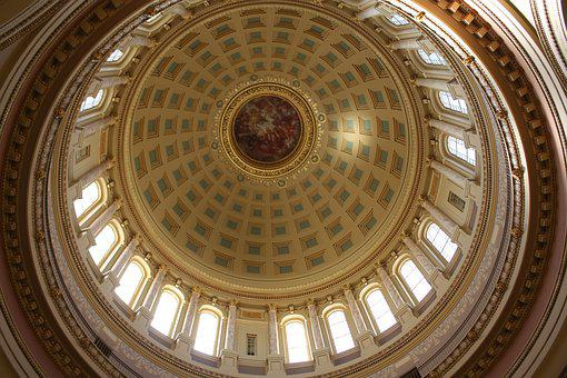 Wisconsin State Capital, State, Wisconsin, Capital