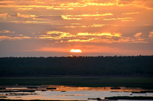 Sunset, Sunlight, Kakadu, Arnhem Land, Sky, Scenic