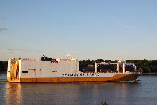 Freighter, Container, Container Ship, Shipping, Ship