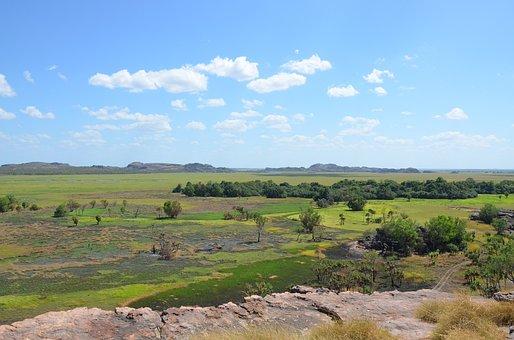 Nadab Lookout, Arnhem Land, Kadadu, Landscape, View