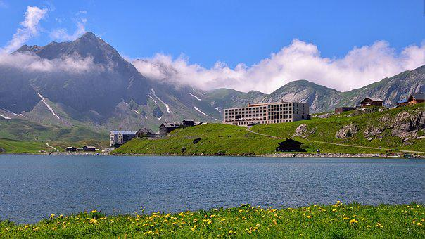 Melchsee-frutt, Bergsee, Mountain Panorama, Nature