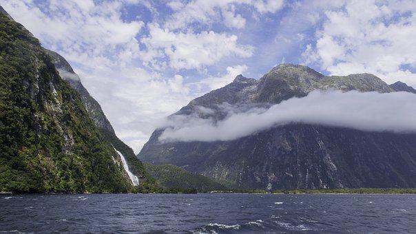 Milford Sound, South Island, New Zealand, Water, Nature