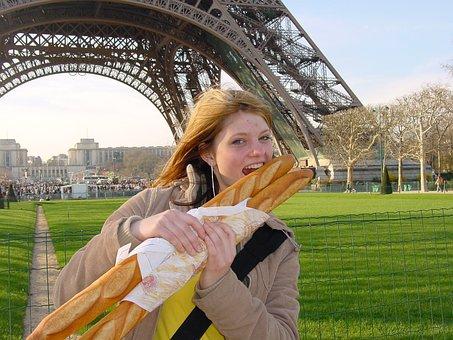 Deux, Baguettes, Pour, Moi, S'il, Vous, Plait, Two