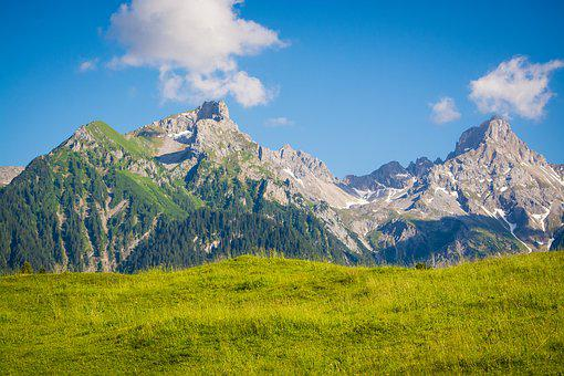 Landscape, Nature, Outlook, Meadow, Alpine Meadow