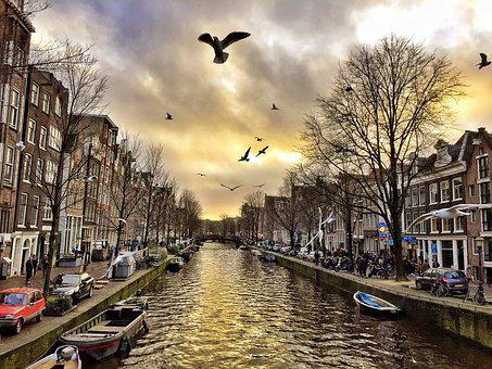 Amsterdam, City, Tour, Netherlands, Channel, Tourism