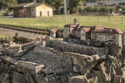 Castle, Places Of Interest, Old, Mood, Hill, Macro