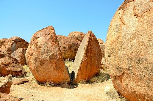 Devils Marbles, Karlu Karlu, Rocks, Rock, Australia