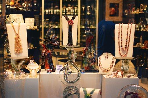 Site, Shop, Glass, Greenhouse, Nice, Venice, Square