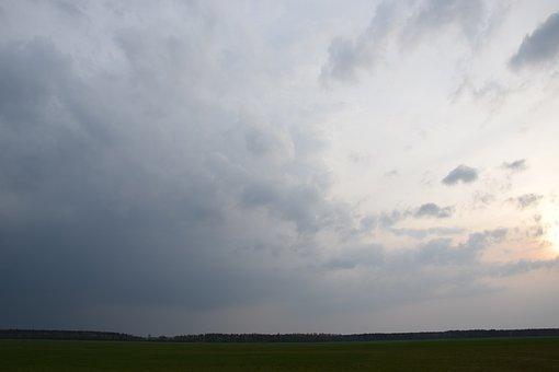 Sky, Photos, Nature, Clouds, Landscape, Evening